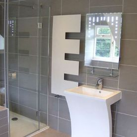 modern bathroom tiles.