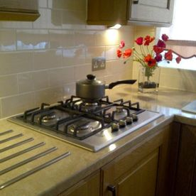 kitchen tile and stoves